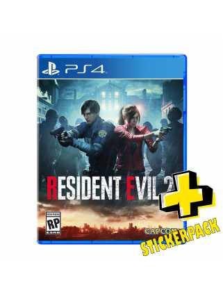 Resident Evil 2 Remake [PS4] (Стикерпак в подарок!)