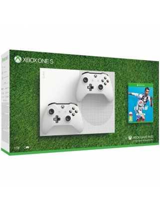 Xbox One S 1TB + Fifa 19 + Второй геймпад