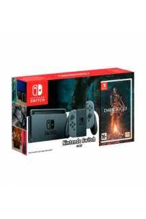 Nintendo Switch (Grey) + Dark Souls: Remastered