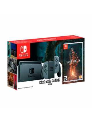 Nintendo Switch (Grey) + Dark Souls: Remastered