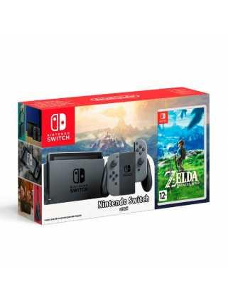Комплект Nintendo Switch (серый) + The Legend of Zelda: Breath of the Wild