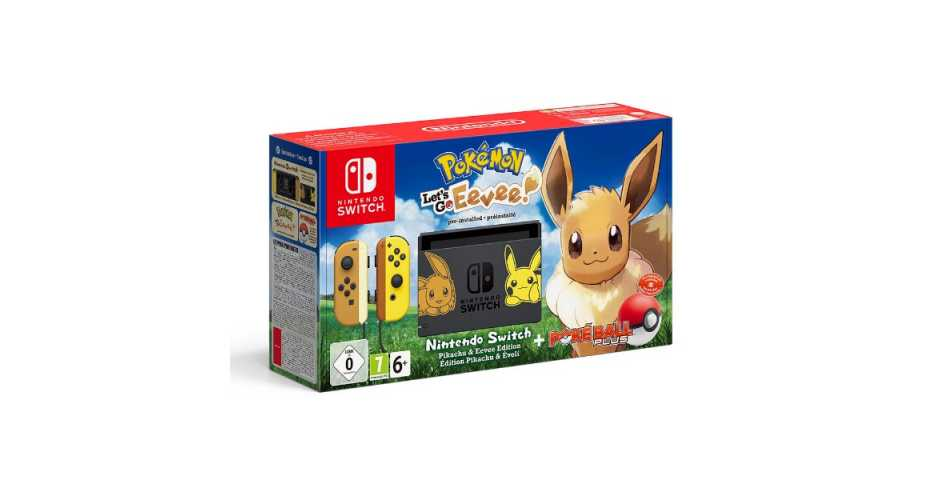 Nintendo Switch Let's Go Eevee Limited Edition