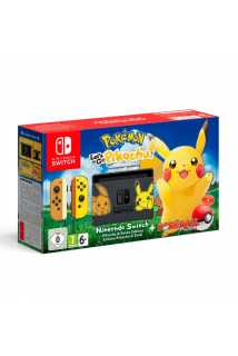 Nintendo Switch Let's Go Pikachu Limited Edition