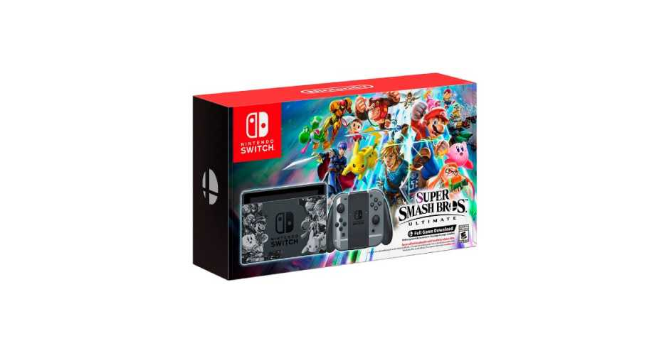 Nintendo Switch Super Smash Bros Ultimate Limited Edition
