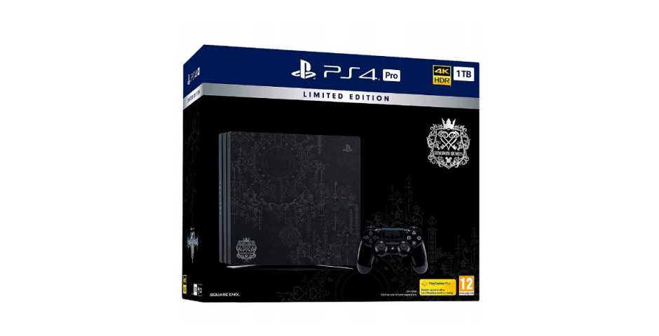 Sony PlayStation 4 Pro 1TB Kingdom Hearts III Limited Edition