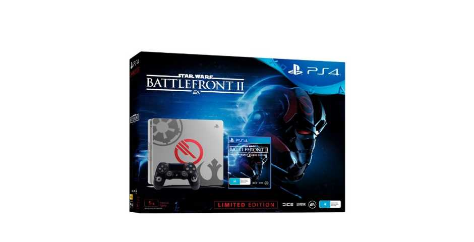 Sony PlayStation 4 Slim 1TB Star Wars Battlefront 2 Edition
