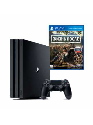 PlayStation 4 Pro 1TB (Black) + Игра Days Gone