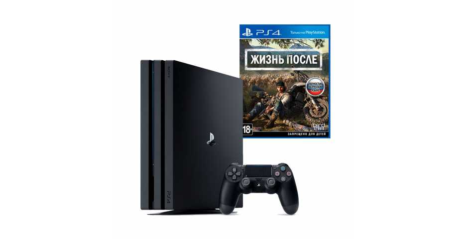 Sony PlayStation 4 Pro 1TB (Black) + Days Gone