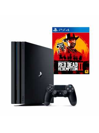 PlayStation 4 Pro 1TB + Red Dead Redemption 2