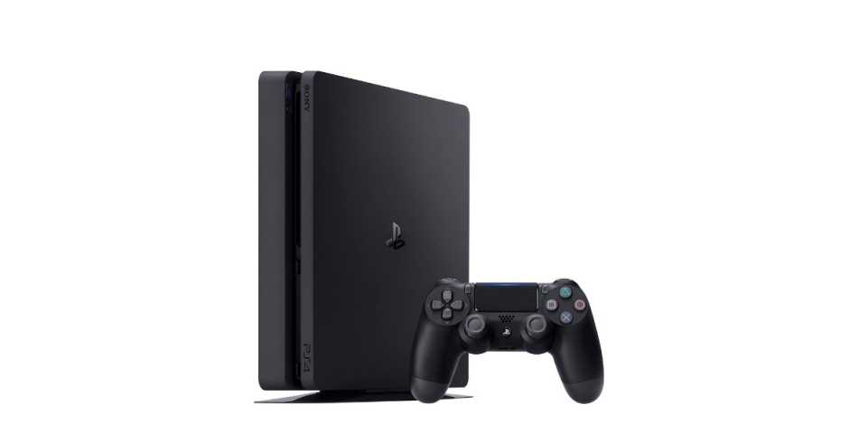 Sony PlayStation 4 Slim 1TB (черная)