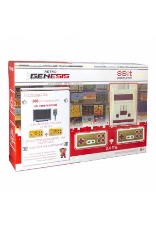 Retro Genesis 8 Bit HD Wireless