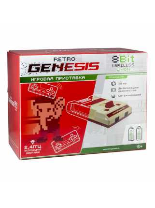 Retro Genesis 8 Bit Wireless Li-ion