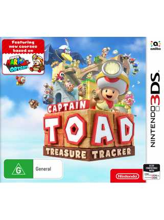 Captain Toad: Treasure Tracker [3DS]