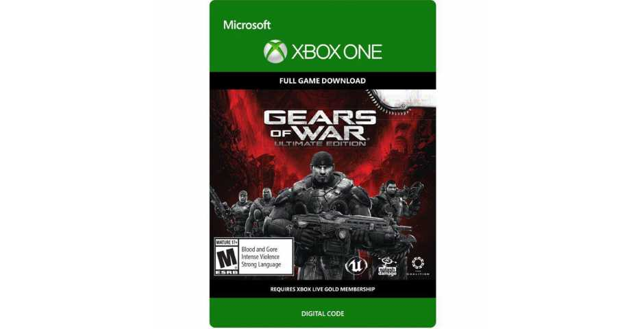 Gears of War: Ultimate Edition [Xbox One] (код на скачивание)