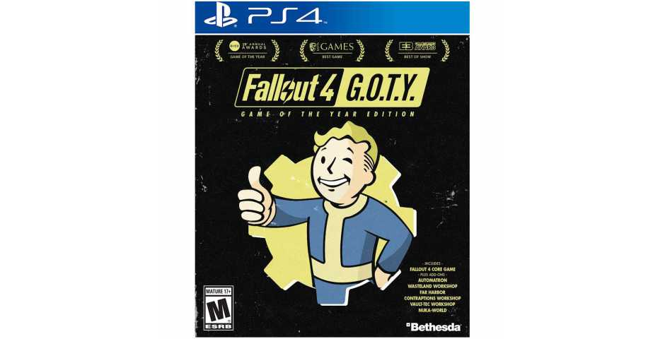 Fallout 4 Game of the Year Edition [PS4] Trade-in | Б/У