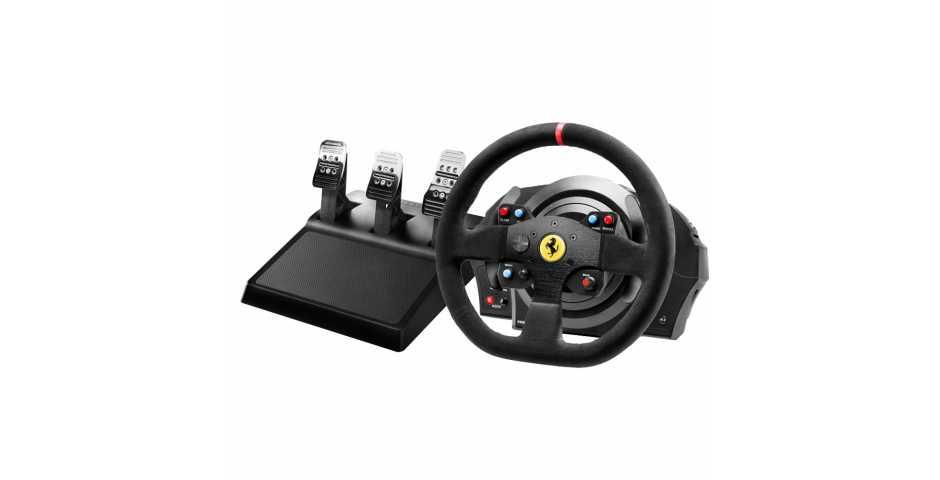Руль Thrustmaster T300 Ferrari Integral RW Alcantara