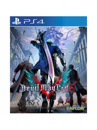 Devil May Cry 5 Lenticular Sleeve Edition [PS4]