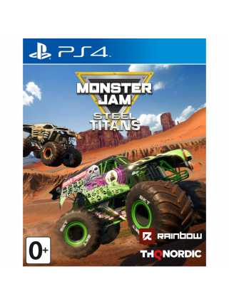 Monster Jam Steel Titans [PS4]