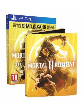 Mortal Kombat 11 Steelbook Edition [PS4] Trade-in | Б/У