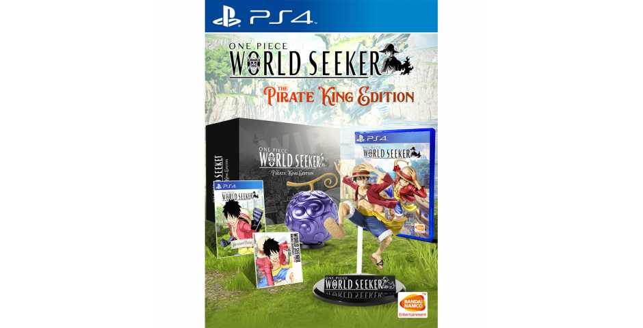 One Piece: World Seeker - The Pirate King Edition [PS4]