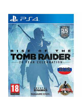 Rise of the Tomb Raider: 20 Year Celebration [PS4, русская версия] Trade-in | Б/У