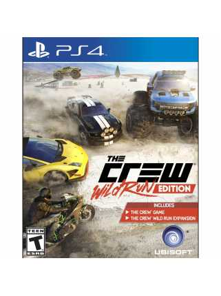 The Crew - Wild Run Edition [PS4, русская версия] Trade-in | Б/У