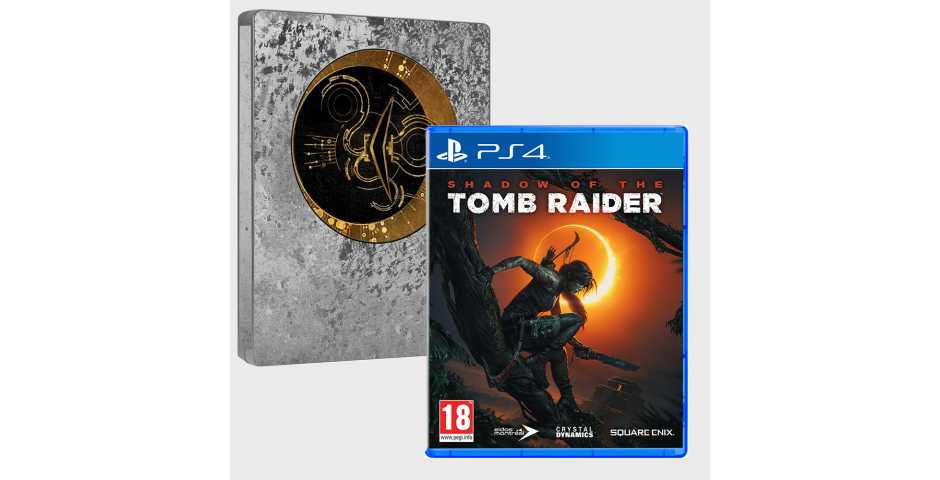 Shadow of the Tomb Raider Limited Steelbook Edition [PS4, русская версия]