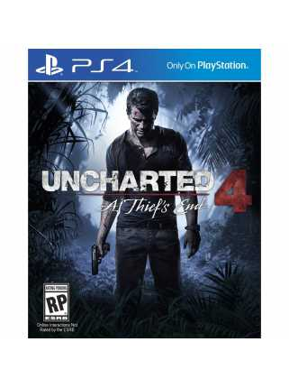 Uncharted 4: A Thief's End [PS4, английская версия]