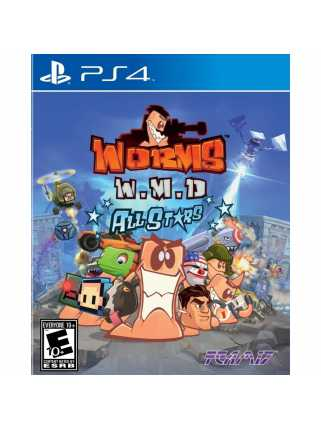 Worms WMD All Stars [PS4, русская версия]