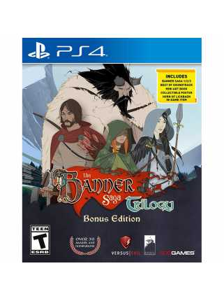 Banner Saga Trilogy Bonus Edition [PS4]