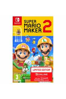 Super Mario Maker 2 - Limited Edition (игра + подписка) [Switch]