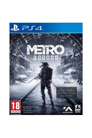 Metro: Exodus - Day One Edition [PS4, русская версия]