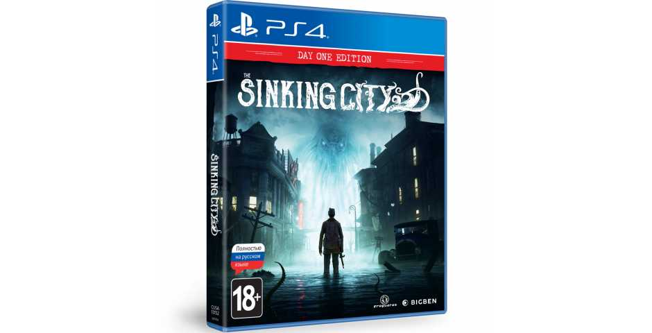 The Sinking City - Day One Edition [PS4, русская версия]