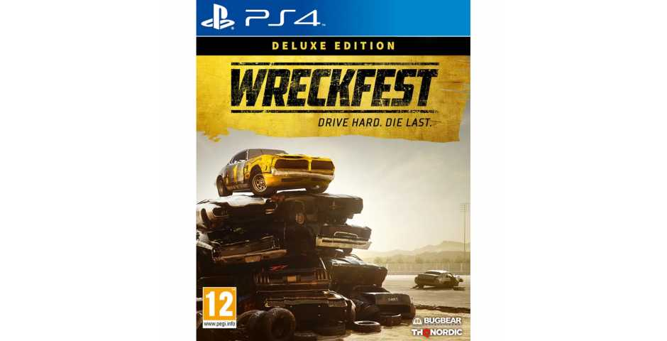 Wreckfest Deluxe Edition [PS4]