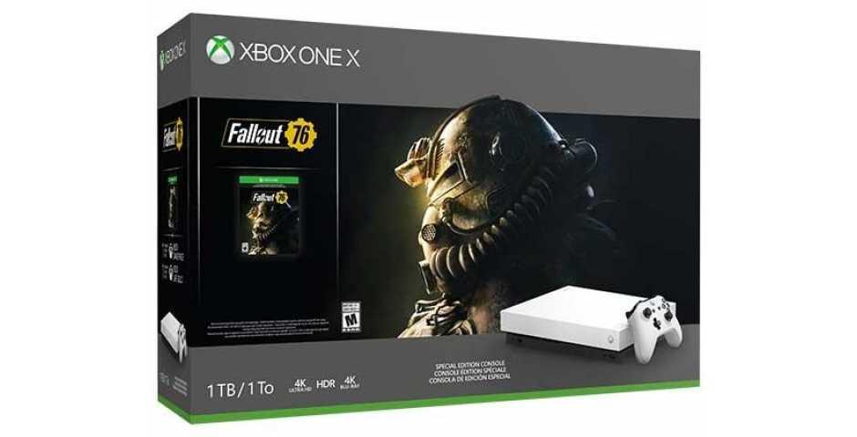 MicrosoftXbox One X + Fallout 76