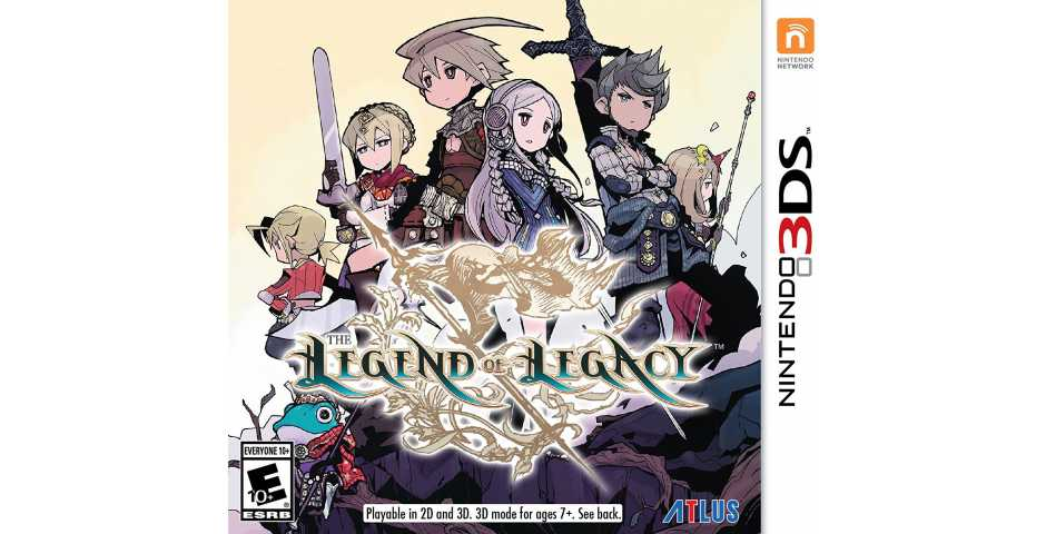 Legend of Legacy [3DS]