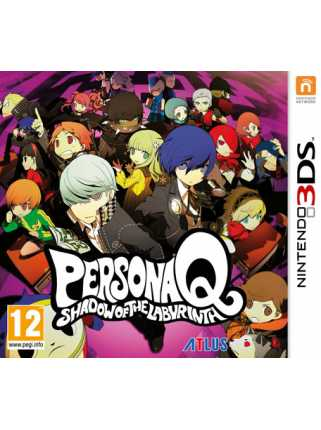 Persona Q: Shadow of the Labyrinth [3DS]