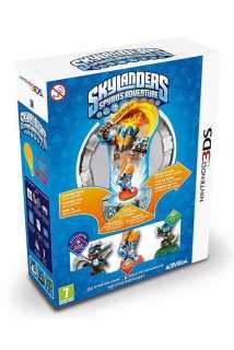Skylanders: Spyro's Adventure Стартовый набор: игровой портал, игра, фигурки: Dark Spyro, Ignitor, Stealth Elf [3DS]