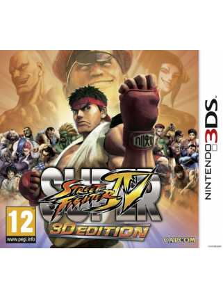 Super Street Fighter IV: 3D Edition [3DS]