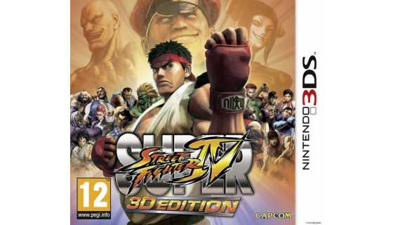 Super Street Fighter IV: 3D Edition [3DS]
