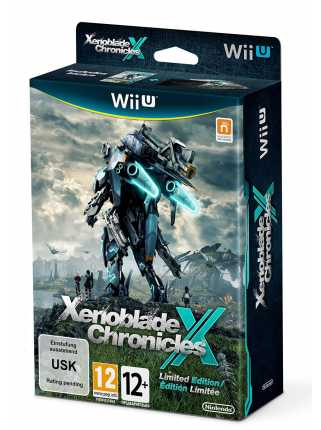Xenoblade Chronicles X. Ограниченное издание [WiiU]