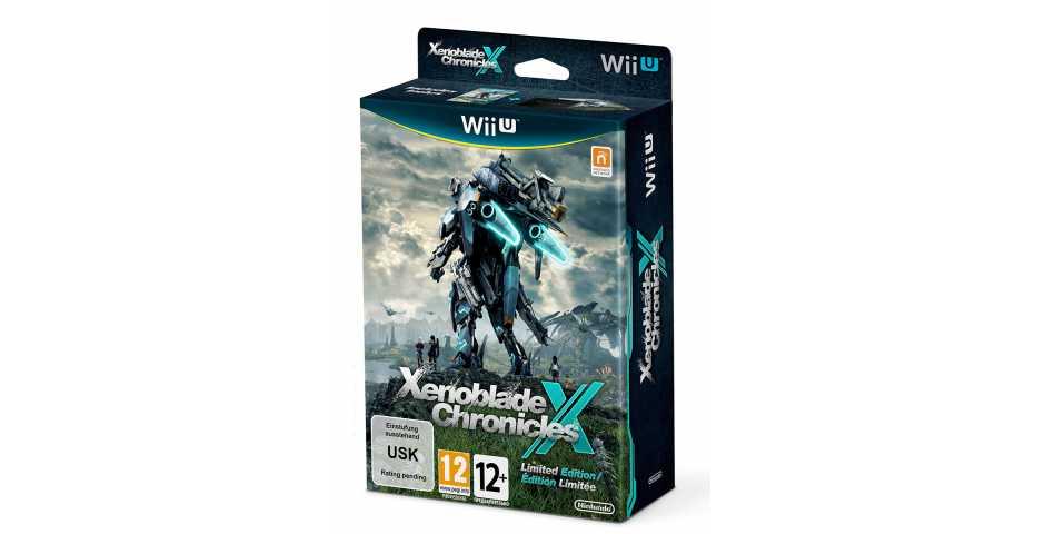 Xenoblade Chronicles X. Ограниченное издание (Wii U)