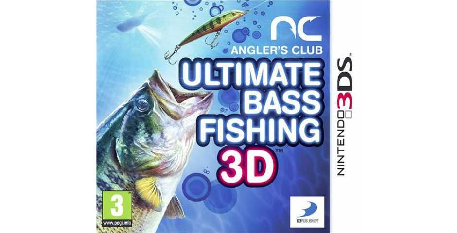 Angler's Club: Ultimate Bass Fishing 3D [3DS]