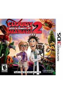 Cloudy white a Chance of Meatballs 2 [3DS]