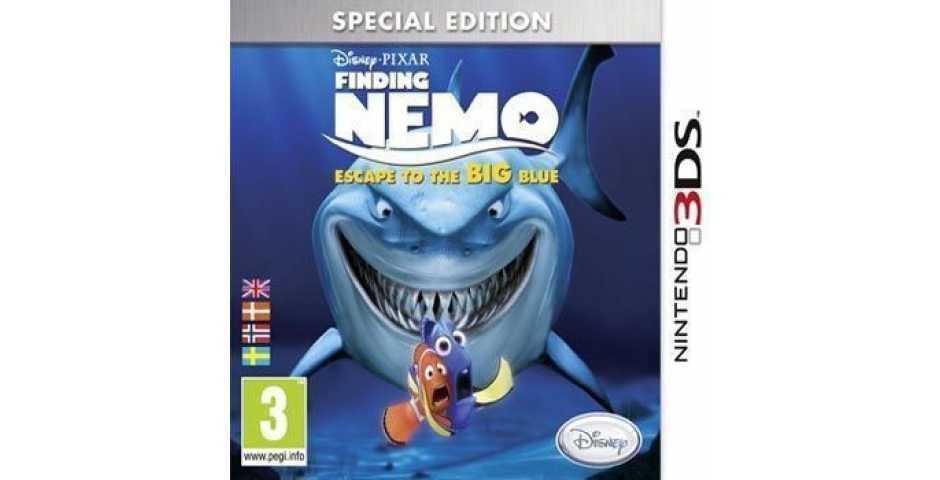 Finding Nemo - Escape to the Big Blu - Special Edition [3DS]