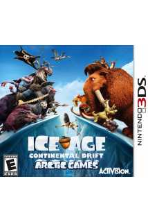 Ice Age 4: Continental Drift - Arctic Games [3DS]