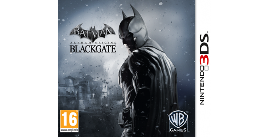Batman Arkham Origins Blackgate [3DS]