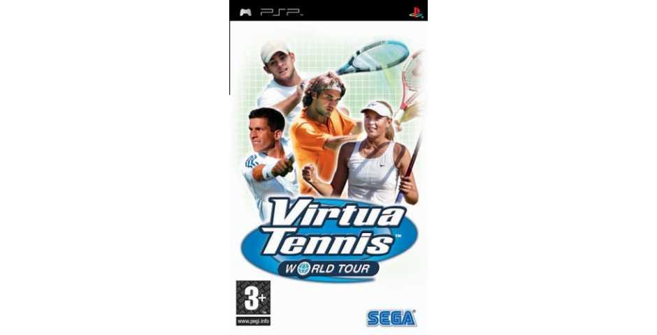 Virtua Tennis: World Tour [PSP]