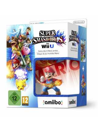 Комплект игра Super Smash Bros. + Amiibo: Mario  [WiiU]