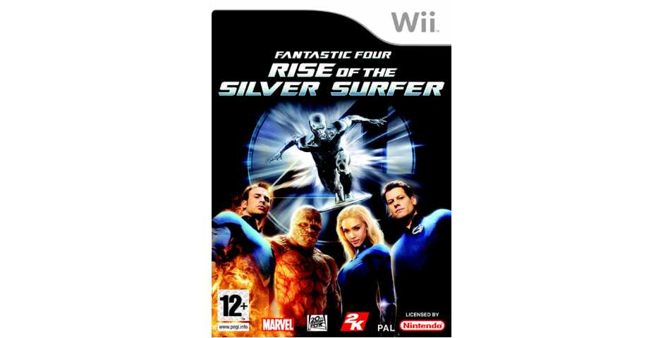 Fantastic 4: Rise Of The Silver Surfer [Wii]